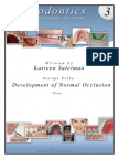 Ortho Script3development of Normal Occlusion