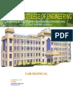 First year Engineering Practices Lab Manual- Author Gandhi.R ,Asso.Professor/EEE,GNANAMANI COLLEGE of ENGINEERING,NAMAKKAL