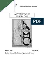 Automatique Regulation