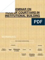 Role of Courtyard in Buildings