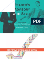 Readers Advisory With Style