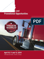 Truck World Sponsorship Guide 2014