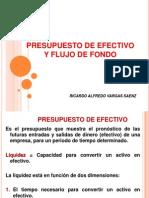 4-Presupuesto de Efectivo y Flujo de Fondo