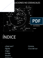 Constelaciones No Zodiacales
