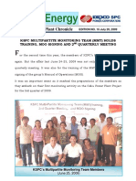 KSPC Newsletter Vol16 Jul09