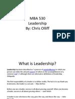 mba 530 leadership