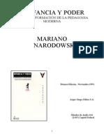 Narodowski_Infancia y Poder