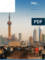 Private Equity Apax Partners 2008 Annual Report