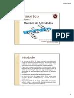 Matrizes de Actividades Final Ppt PDF