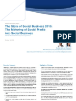 The State of Social Business 2013