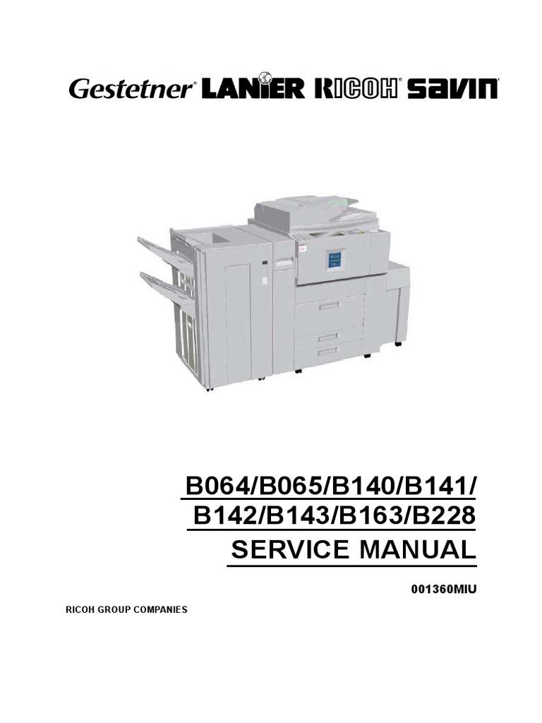 ... Array - service manual af1060 1075 2060 2075 2051 b064 065 140 141 142  143 rh