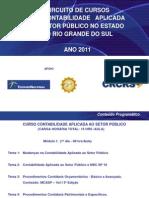 MODULO I - Curso Multiplicadores CRCRS 2011
