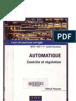 Automatique Controle et Régulation