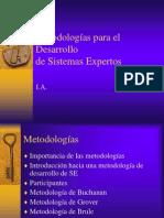 Unidad 3 Metodologia Sistemas Expertos
