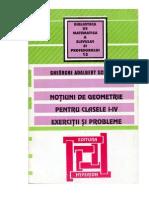 Carti Culegere.de.Matematica.de.Geometrie Clasele.1 4