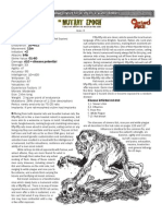 FIfty Fifty Rat the Mutant Epoch RPG SOE Creature