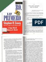 COVEY, Primero, Lo Primero Pgs 53 a 89
