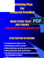 01 Marketing Plan For Financial Freedom