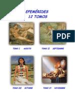 - INICIO 12 TOMOS     EFEMERIDES