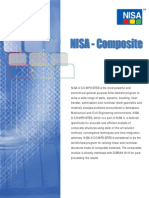 NISA II Composites Flyer Brochure