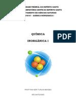 Apostila Inorganica I 2012 2 UFES