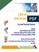 IPv6 CUDI Primavera2009 Azael