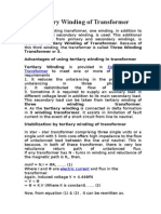 Tertiary Winding of Transformer
