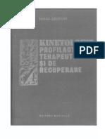 Tudor Sbenghe Kinetologie Profilactica Terapeutica Si de Recuperare