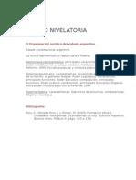 Unidad Nivelatoria - Programa