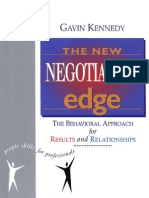 Kennedy, Gavin - The New Negotiation Edge