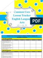 gr  2 ela common core lesson tracker