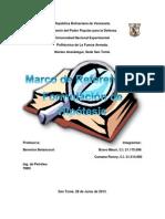 Trabajo Marco Teorico; Hipotesis (Bravo Mauri - Cumana Ronny, 7N03)