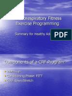 CRF Programming 101