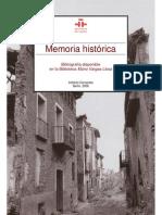 Memoria Historica 2008