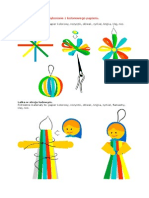 Ozdoby Choinkowe Wykonane z Kolorowego Papieru1
