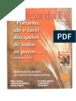 Revista Defesa da Fé - Ano 7 - nº 47 - agosto de 2002 (Incompleta)