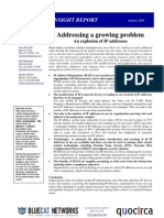 Addressing a growing problem