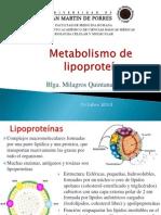 Metabolismo lipoproteinas