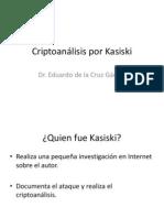 Criptoanalisis Por Kasiski