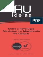 Entre a Revolução Mexicana e o movimento de chiapas
