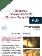 8. Shotcrete