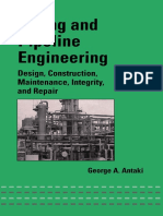 Piping And Pipeline Engineering Design Construction Maintenance Pdf