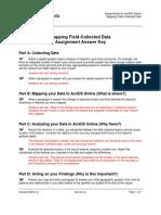 fielddata assignment answerkey