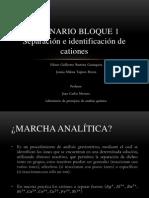 Seminario Bloque - Cationes ( Jessica Tapiero y Guillermo Bautista)