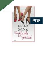 Sanz Esther - Los Siete Soles de La Felicidad