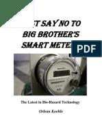Smart Meter Are Harmful