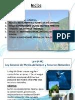 Ley 64-00 Presentacion