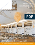 CAM Magazine August 2009 Construction Law, Interiors & Finishes