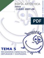 TEMA 5[1].Controles Esenciales Fot Artist 2007 08