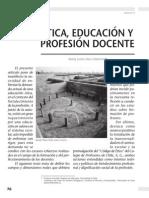 Ética, educación y profesión docente